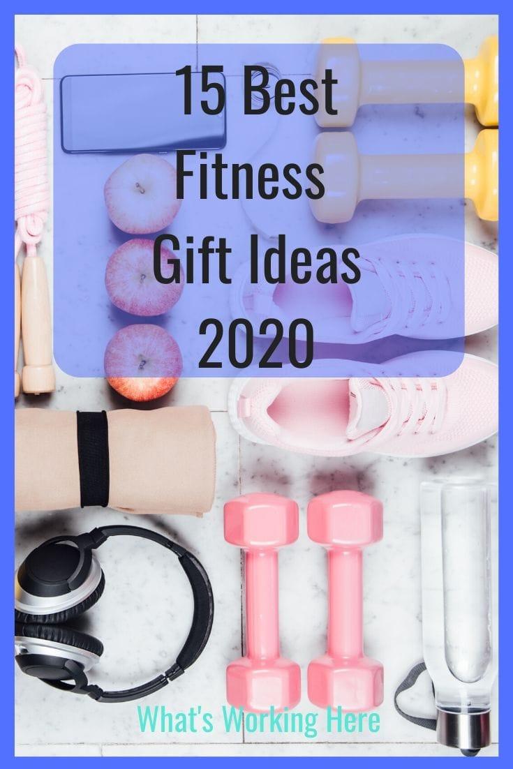 15 Best Fitness Gift Ideas 2020 weights, sneakers, headphones, water bottle,