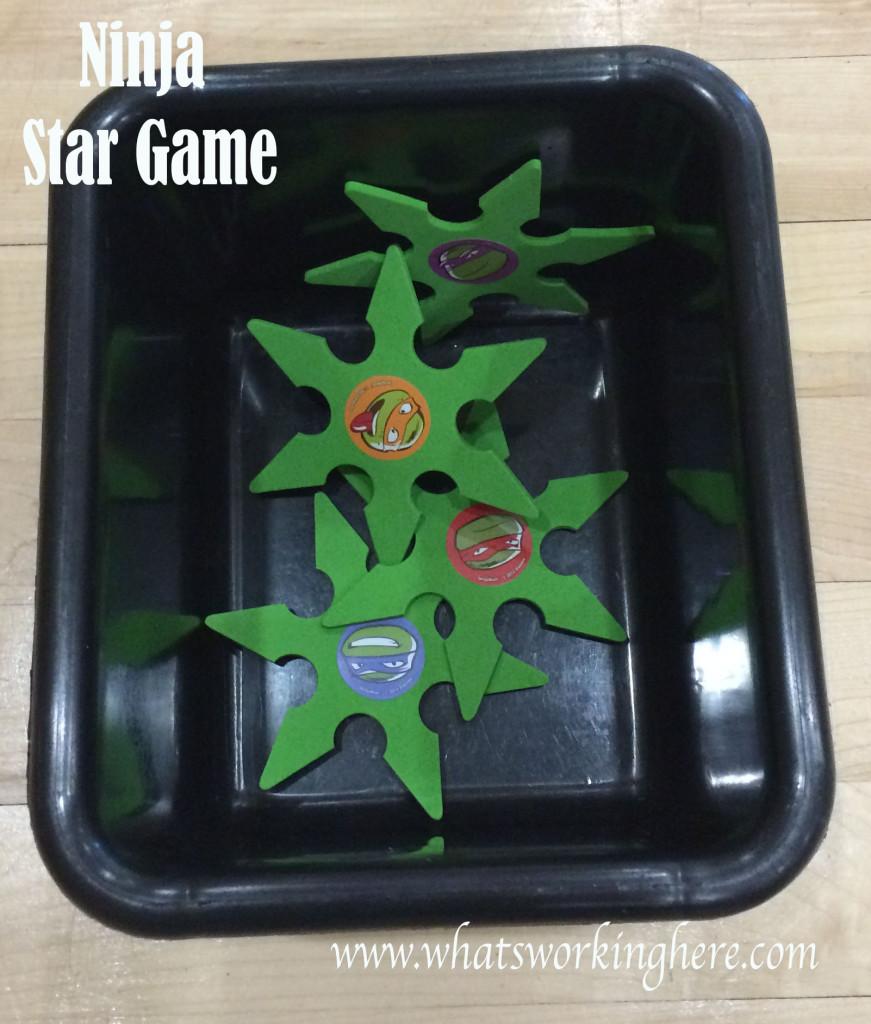Ninja Turtle Star Game