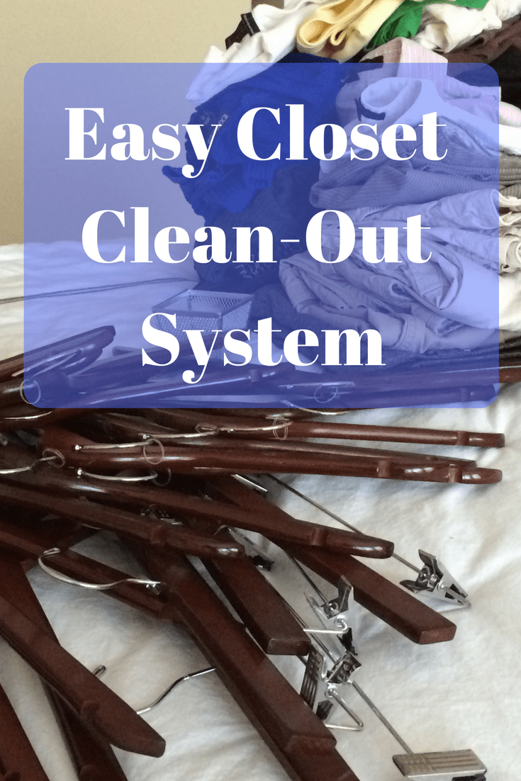 Easy Closet Clean-Out System