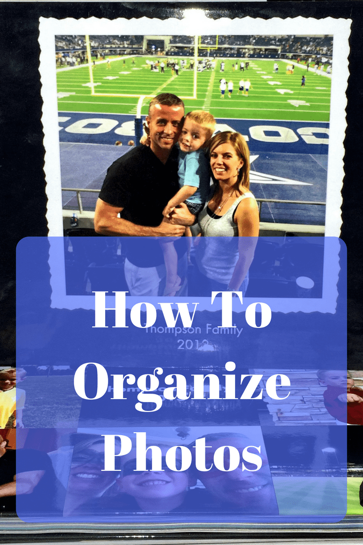 How To Organize Photos