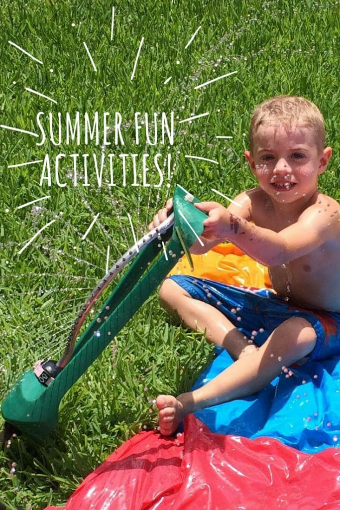 Summer Fun Activities