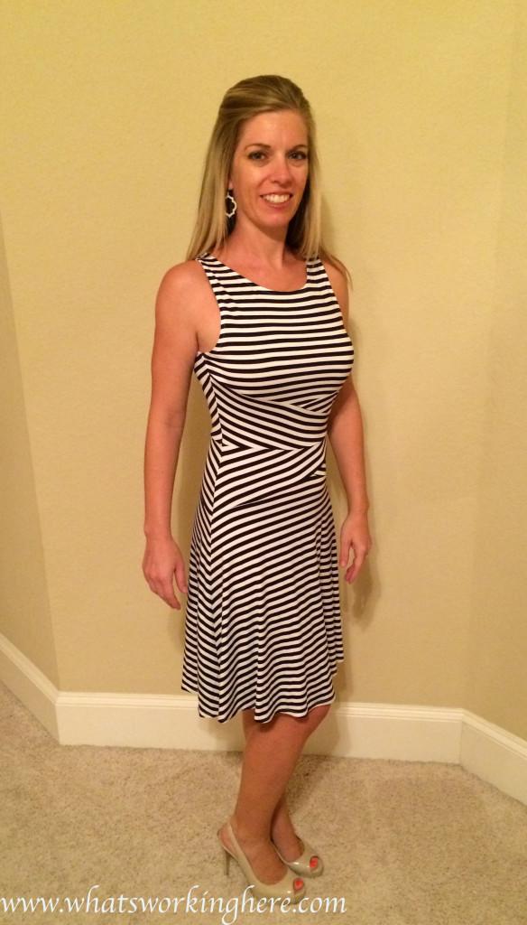 Nic Striped Dress