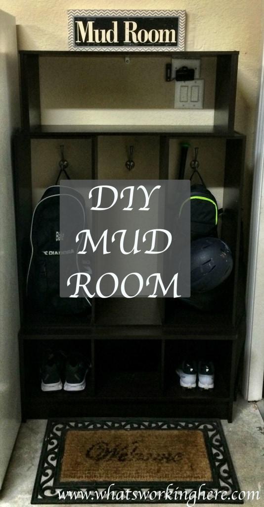 Mud Room Title