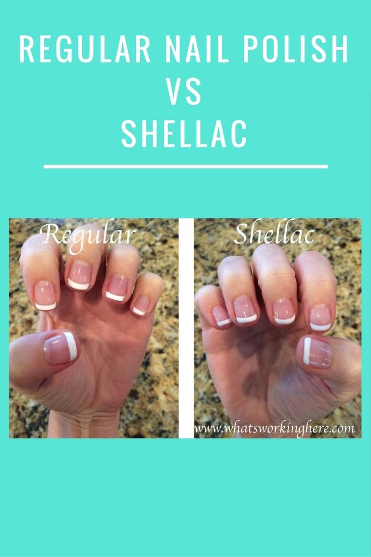 Regular Nail Polish vs Shellac
