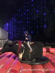 Santa's Wonderland -bull riding