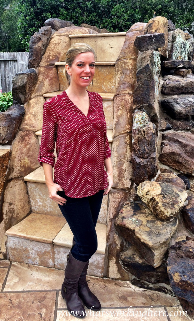 Elby Blouse & Jonathan Cords