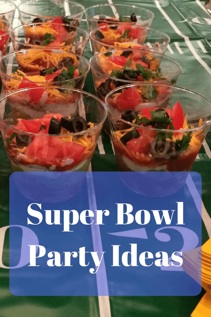 Super Bowl Party Ideas
