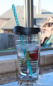 Strawberry Mint Water