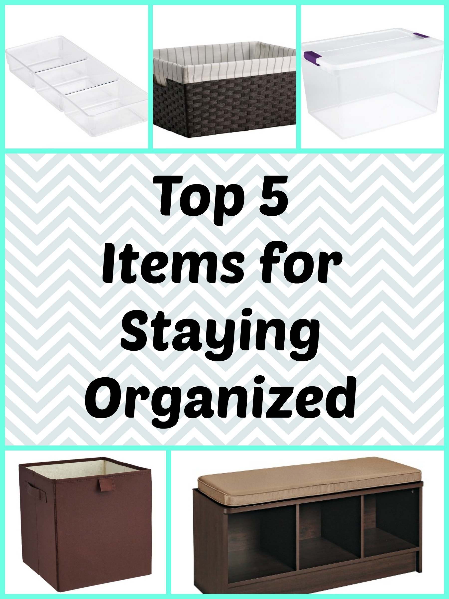 Top 5 Items for Staying Organized
