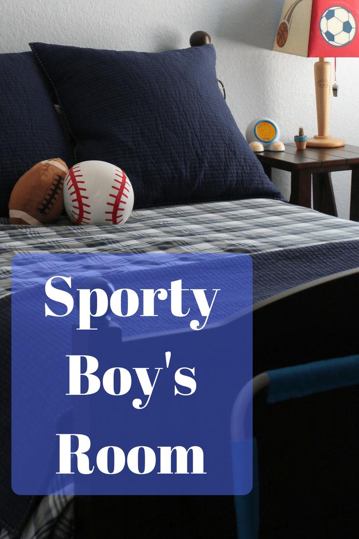 Sporty Boy's Room