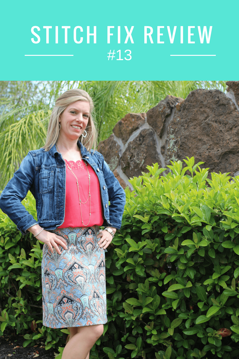 Spring Stitch Fix Review #13