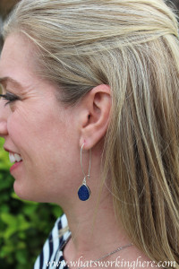 Zad- Adriana Stone Drop Earrings