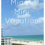 Mini Miami Vacation