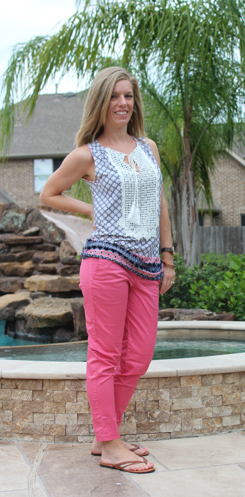 Papermoon top and Kut pant