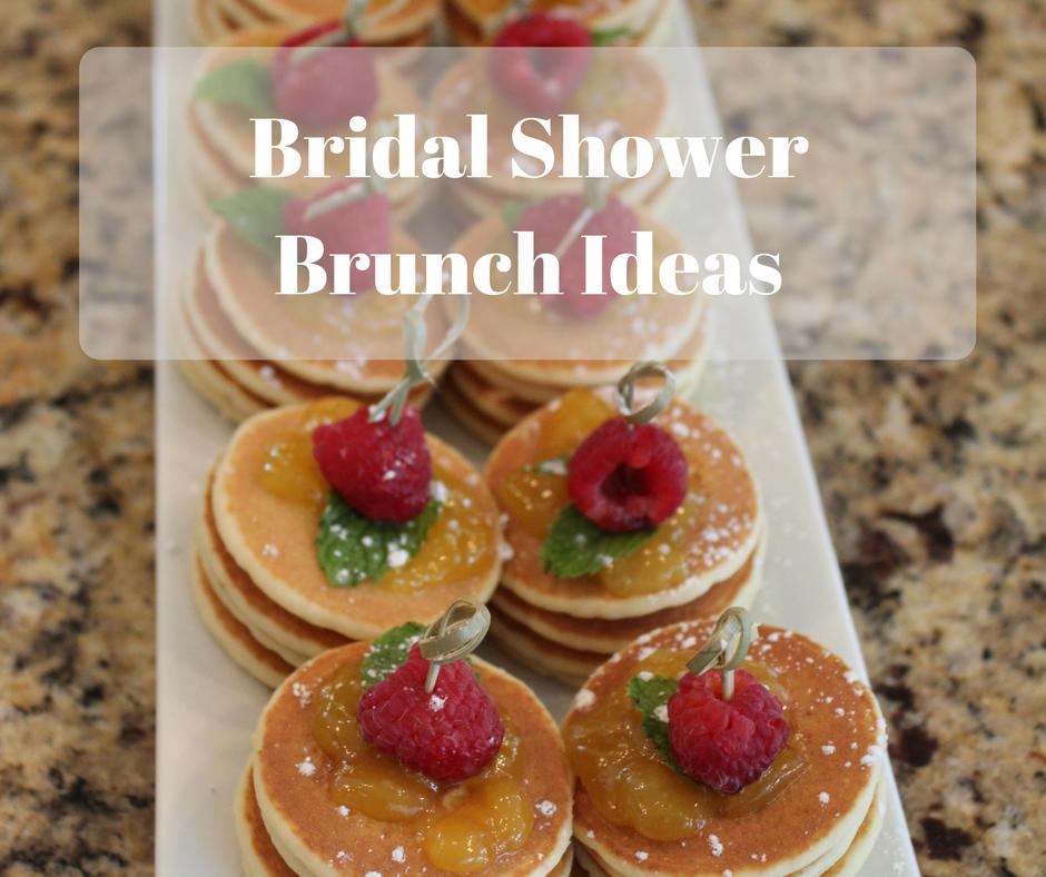 Bridal Shower Brunch Ideas