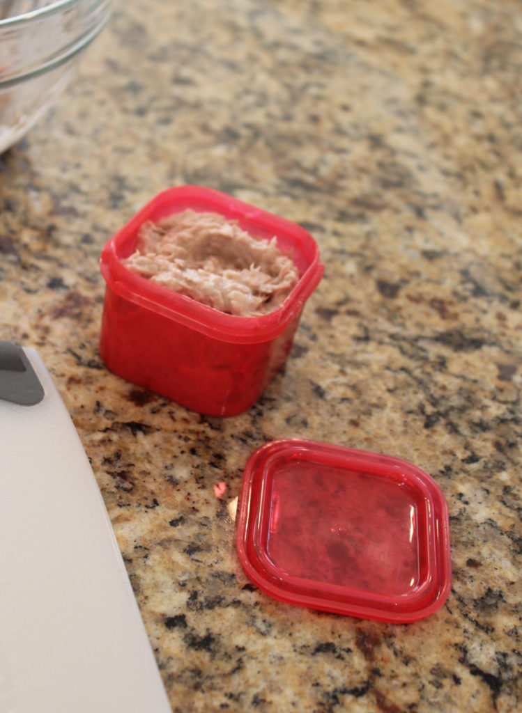 Meal Prep- 21 Day Fix -red container- Protein