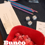 Hosting Bunco Night