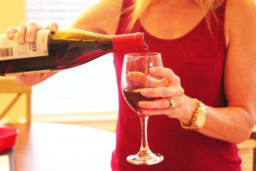 Bunco wine time
