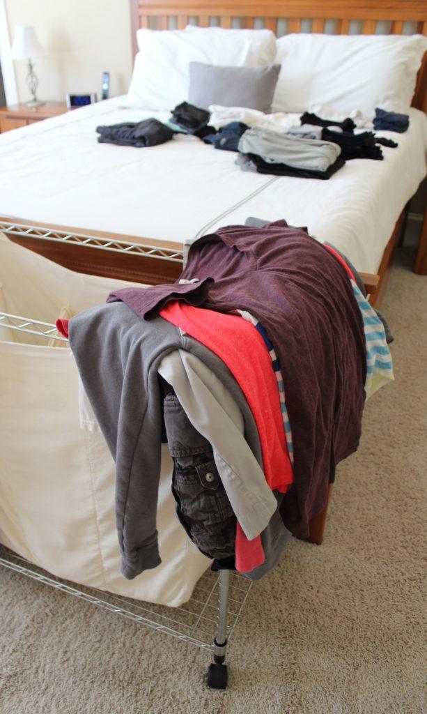 Easy Laundry System-folded laundry