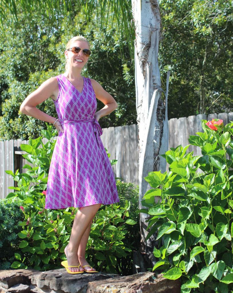 41Hawthron Kassidy Faux Wrap Dress