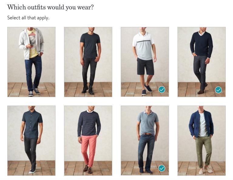 Stitch Fix Men Style Profile