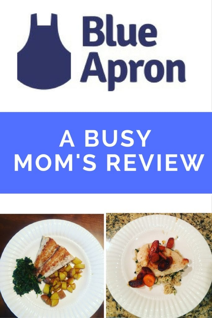 Blue Apron Review- A Busy Mom's Opinon