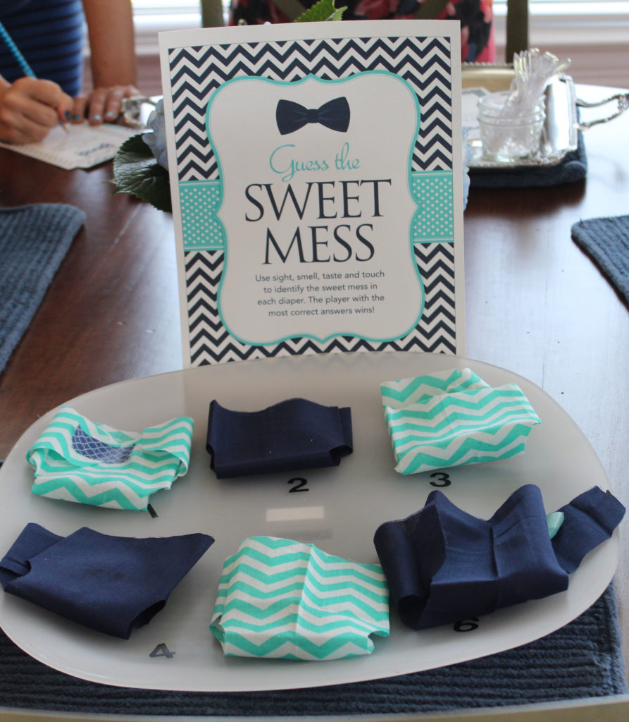 Baby Shower Games - Guess The Sweet Mess