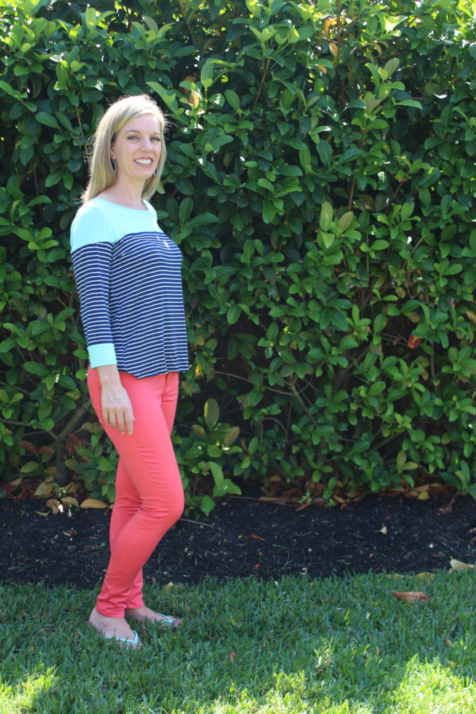 Stitch Fix - Kamala Skinny Jean by Tinsel & Marielle Knit Top by Market Spruce