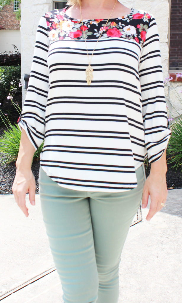 Stitch Fix - Munroe Feather Pendant Necklace by Romolo