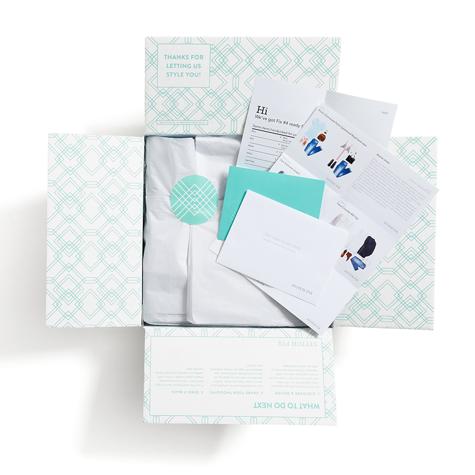 A Peek Inside a Stitch Fix Box