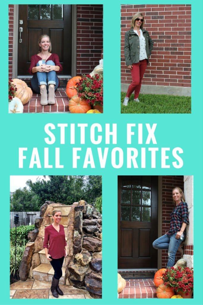 Stitch Fix Fall Favorites