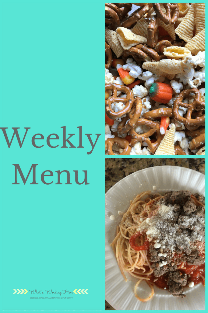 November 12th Weekly Menu