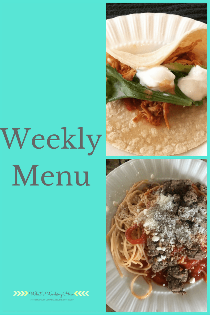 November 26th Weekly Menu - Freezer Meals
