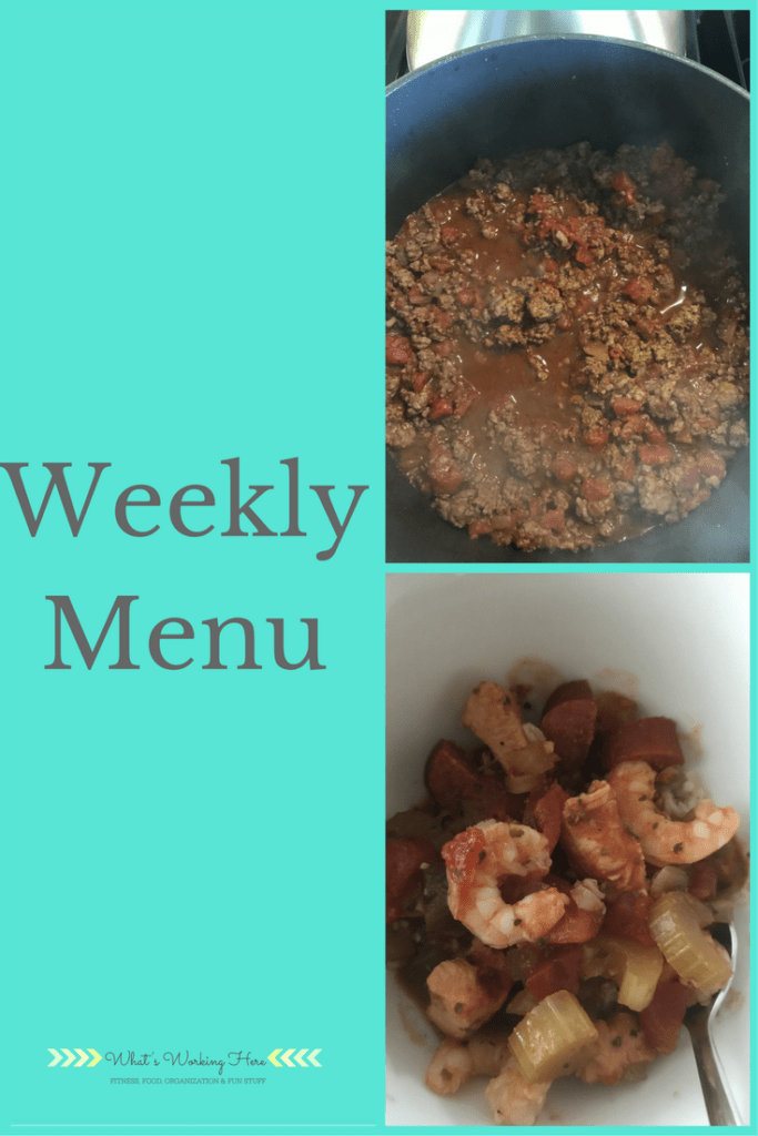 December 10th Weekly Menu