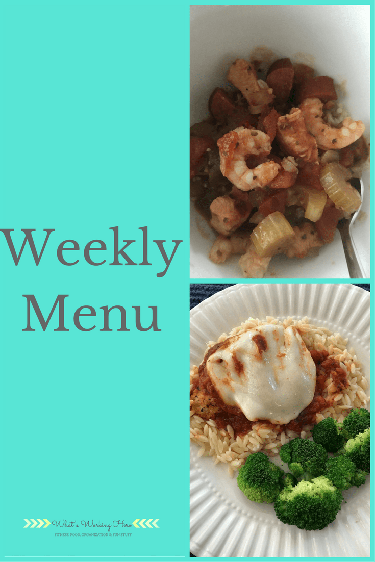 December 3rd Weekly Menu - Slow Cooker Meals