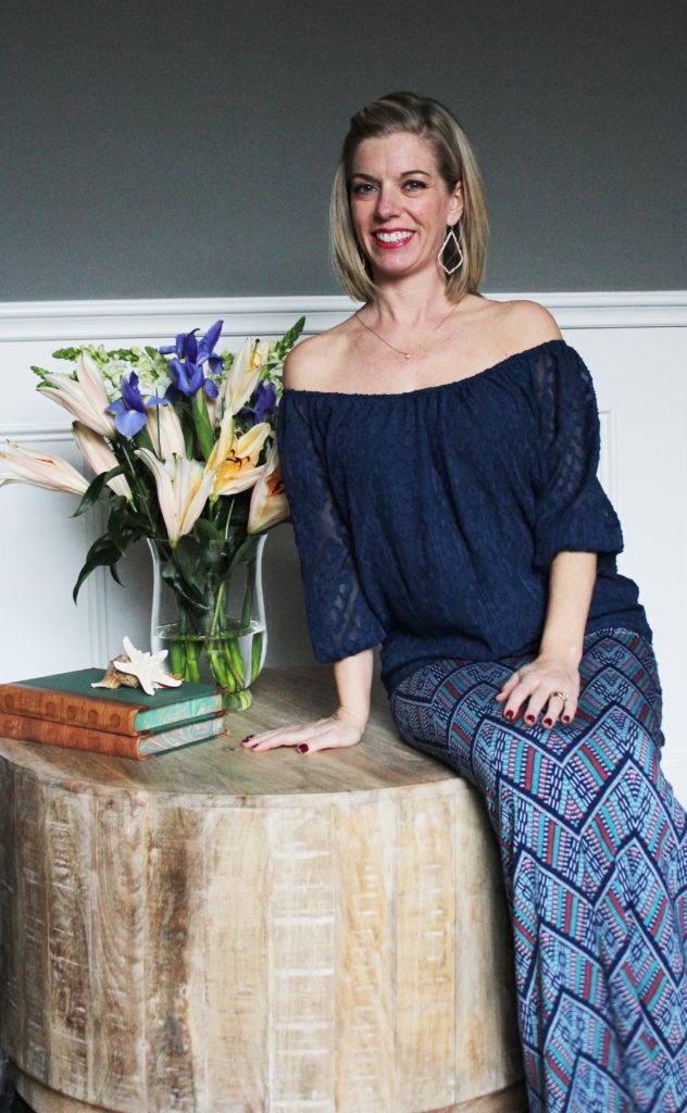 Stitch Fix- En Elly Off The Shoulder Top & Loveappella Maxi Skirt