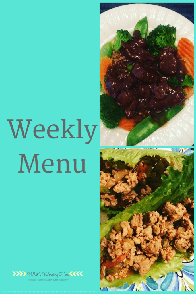 January 28th Weekly Menu - 80 Day Obsession
