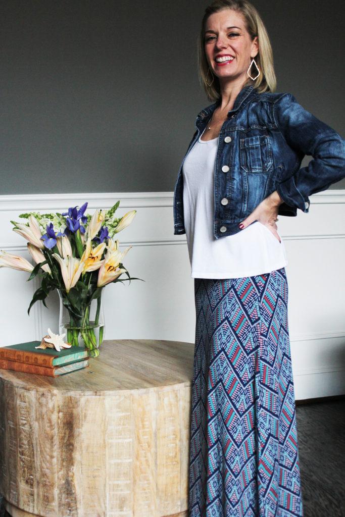Stitch Fix -Loveappella Maxi Skirt