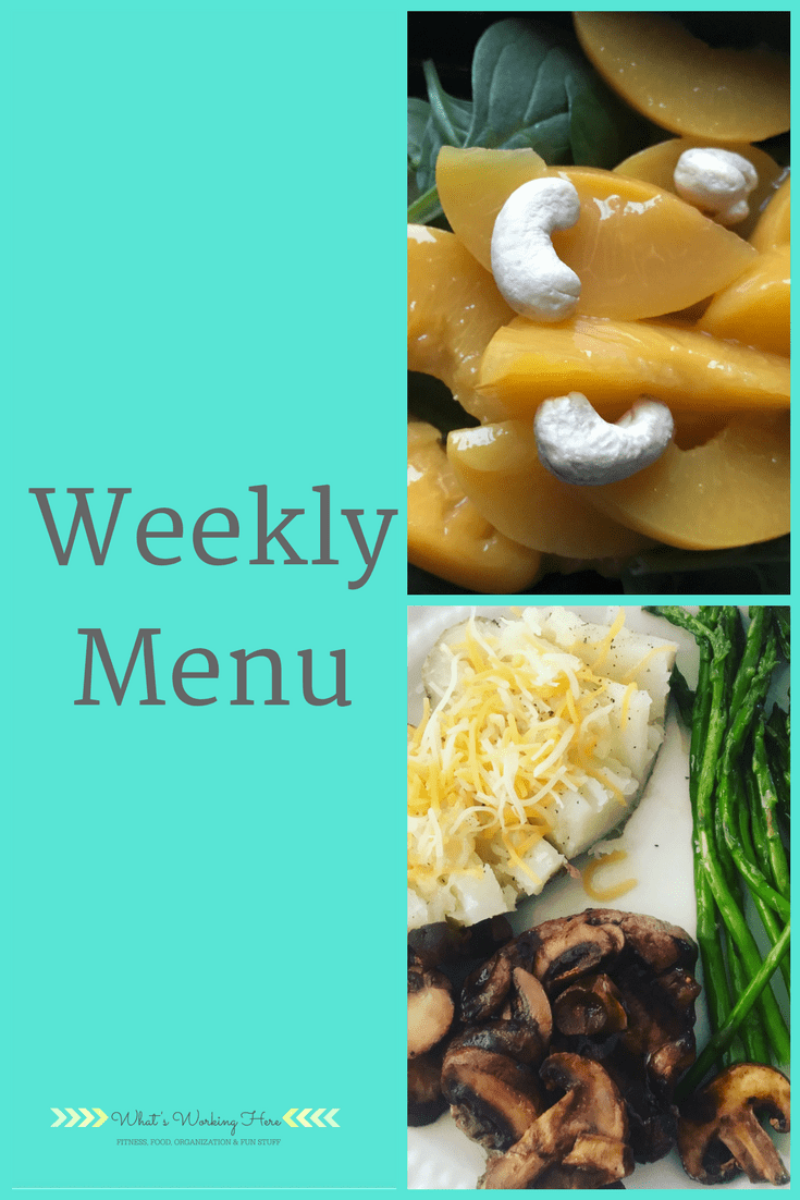 March 11th Weekly Menu- 80 Day Obsession Meal Variety