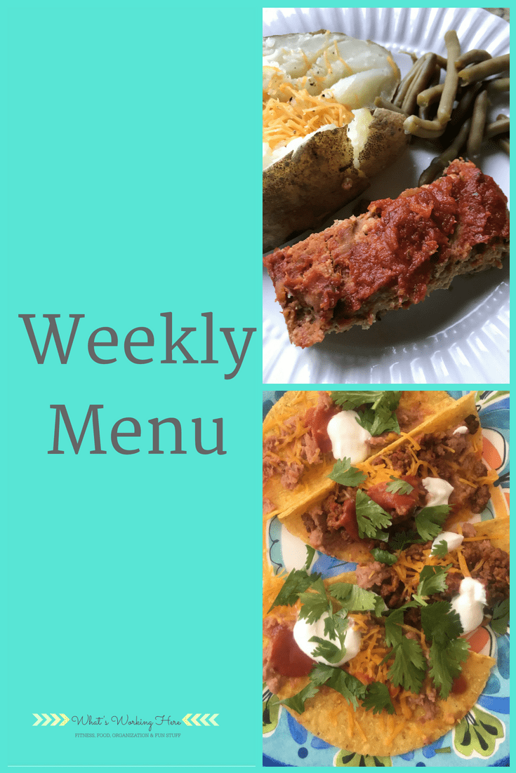 May 20th Weekly Menu - Summer Snack Recipe