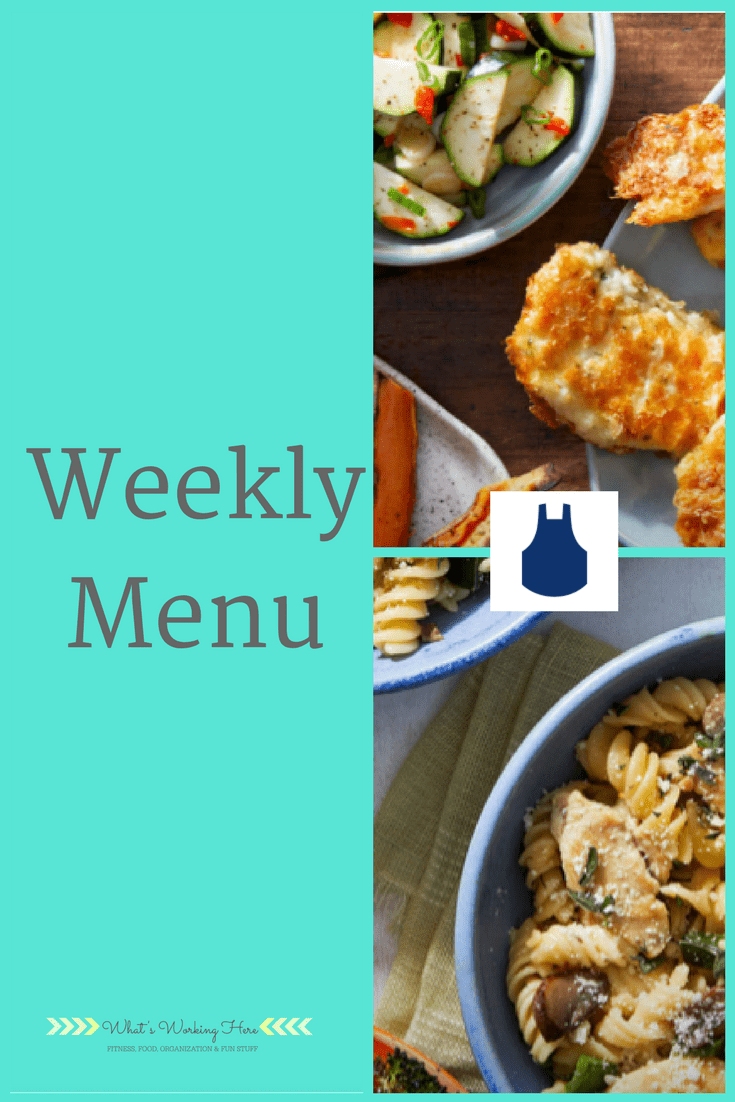 May 6th Weekly Menu - Cooking with Blue Apron