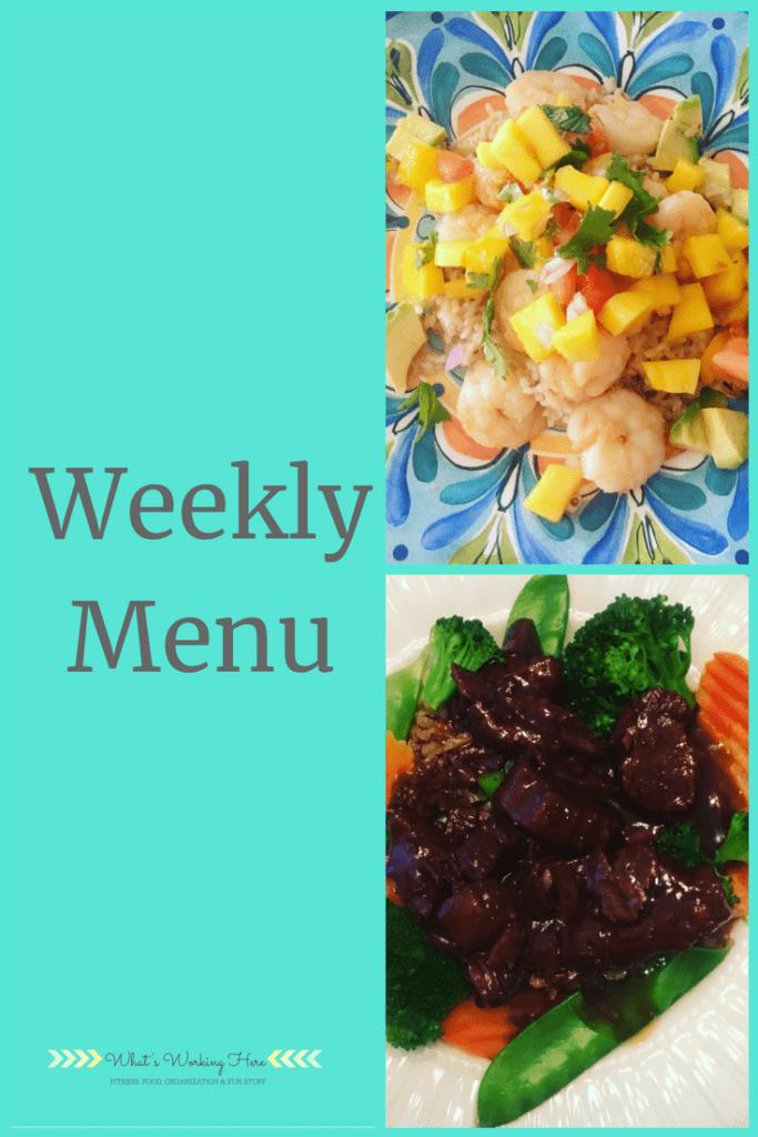 July 22nd Weekly Menu - Liift4 Meal Plan A
