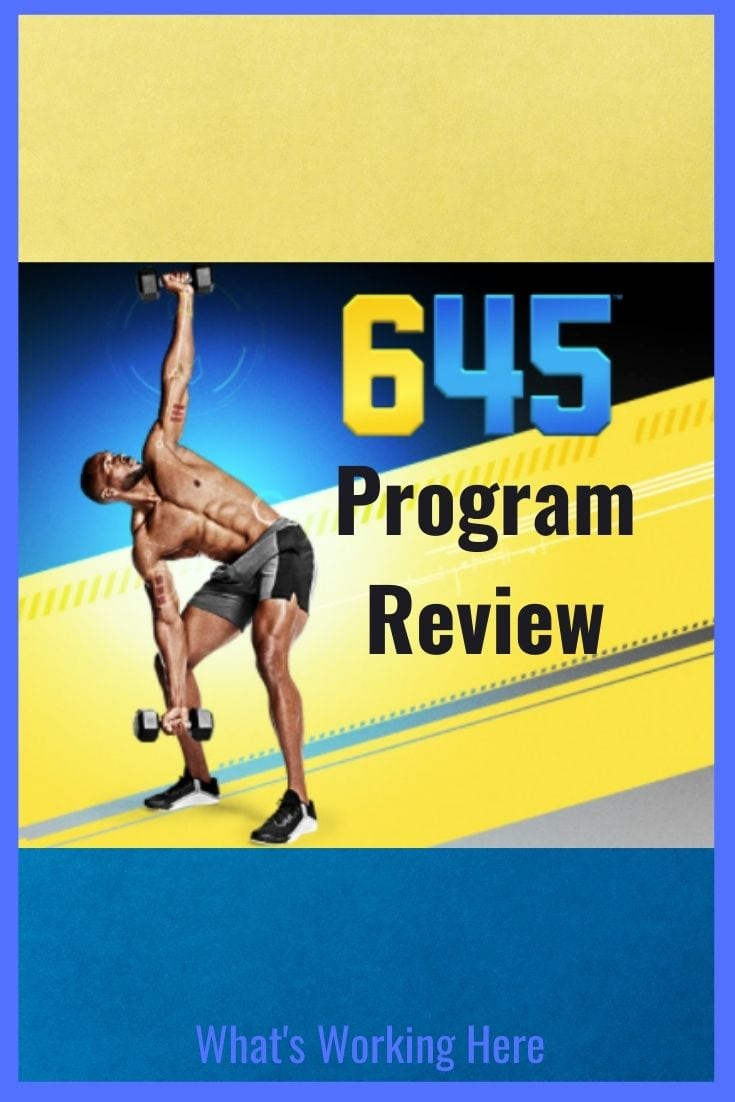 645 fitness program review