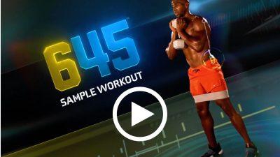 645 sample workout