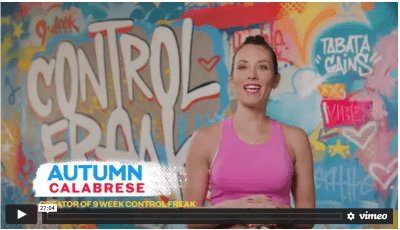 9 Week Control Freak Sample Workout