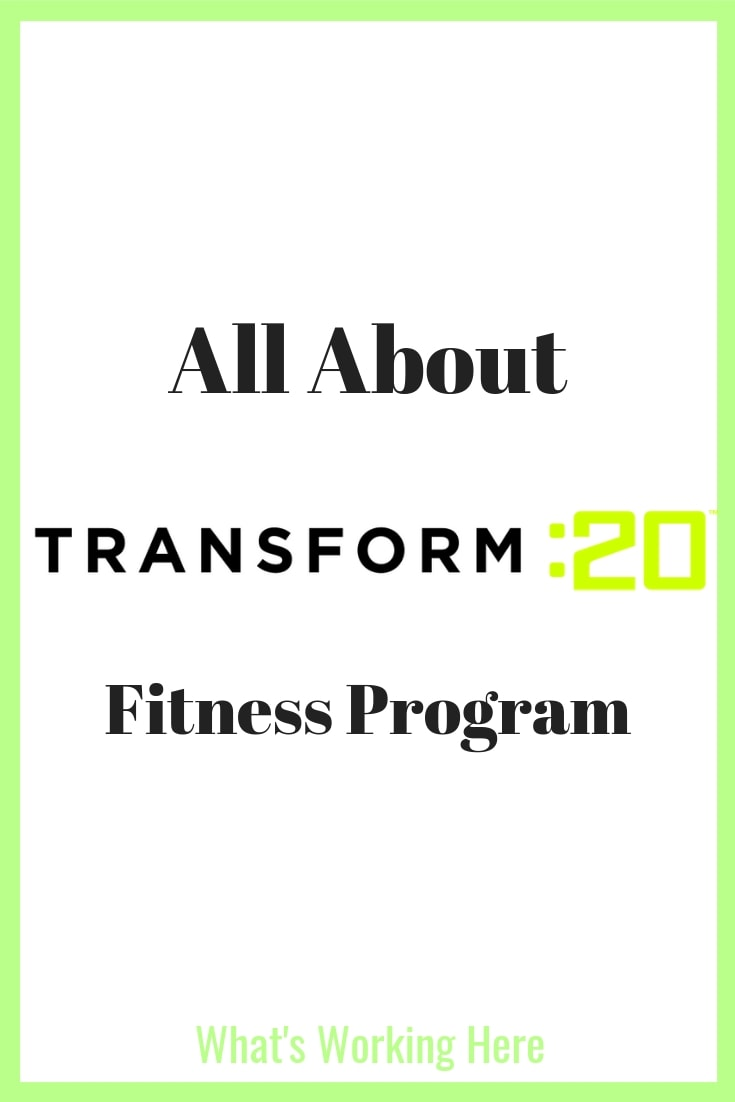 All About Transform 20 Workout Program - Transform :20 logo