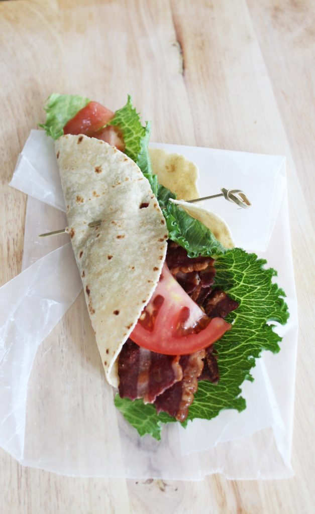 Turkey BLT Wrap - perfect for breakfast, lunch, dinner or a snack
