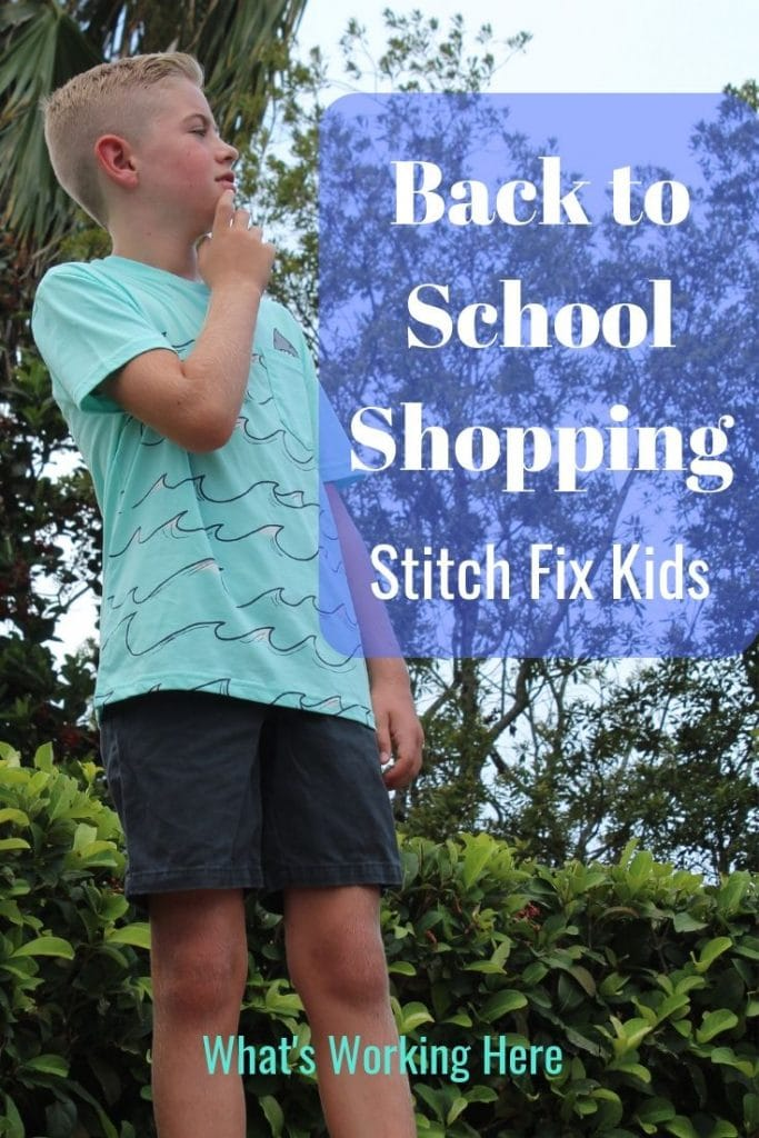 Back to School Shopping with Stitch Fix Kids