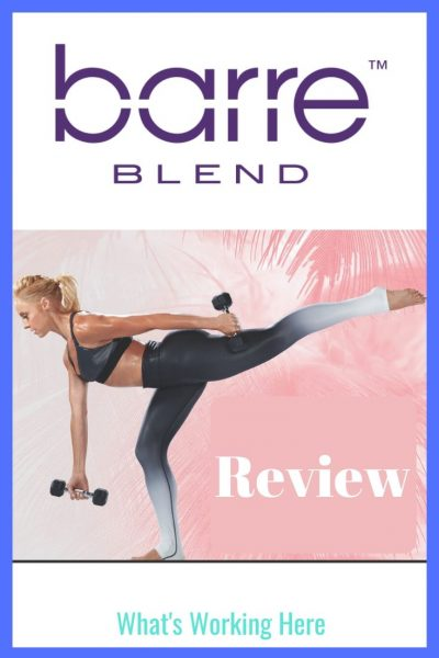 Barre Blend Review