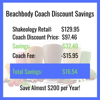 Beachbody Coach Discount Savings